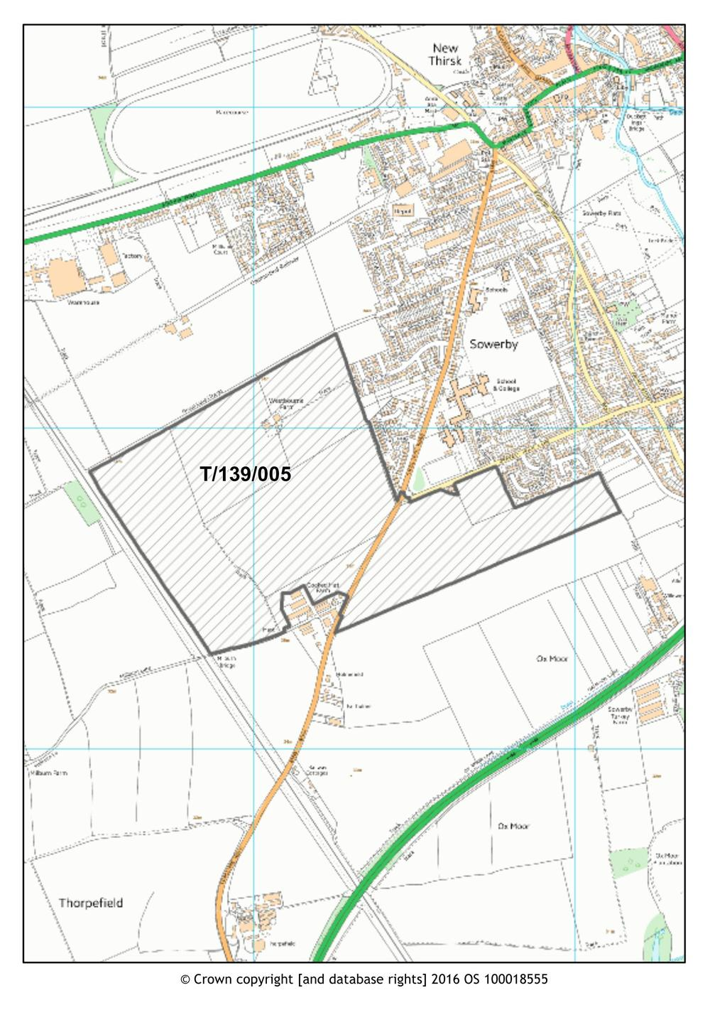 Hambleton District Council Preferred Options Consultation Part 2 Thirsk Sub Area 3 Thirsk With Sowerby